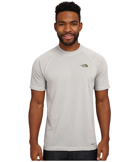 Imbracaminte Barbati The North Face Short Sleeve RDT Crew Tee High Rise Grey Heather