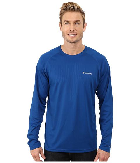 Imbracaminte Barbati Columbia Peak Racertrade Long Sleeve Shirt Marine Blue