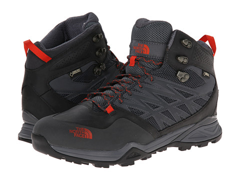 Incaltaminte Barbati The North Face Hedgehog Hike Mid GTXreg Dark Shadow GreyZion Orange