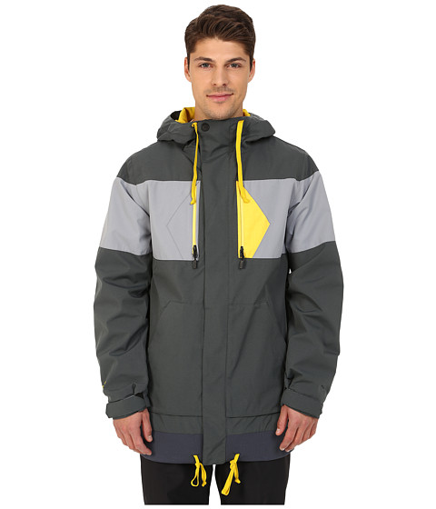 Imbracaminte Barbati Volcom CP3 Jacket Charcoal