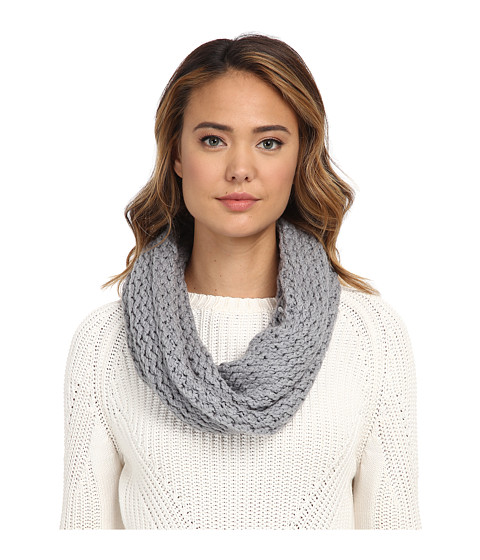 Accesorii Femei UGG Sequoia Twisted Solid Knit Snood Grey Heather