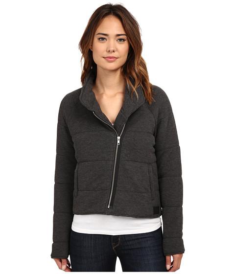 Imbracaminte Femei Obey Sierra Quilted Wrap Jacket Heather Black