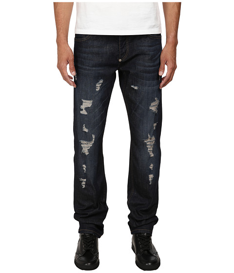 Imbracaminte Barbati Philipp Plein Distressed Denim Army Blue