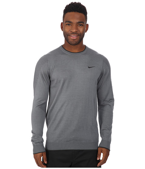 Imbracaminte Barbati Nike Tiger Woods Engineered Sweater 20 Cool GreyAnthraciteAnthracite