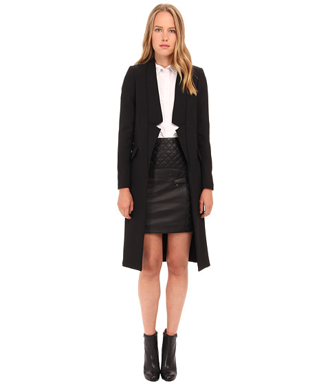Imbracaminte Femei Pierre Balmain Drape Blazer Coat FP23120 Black