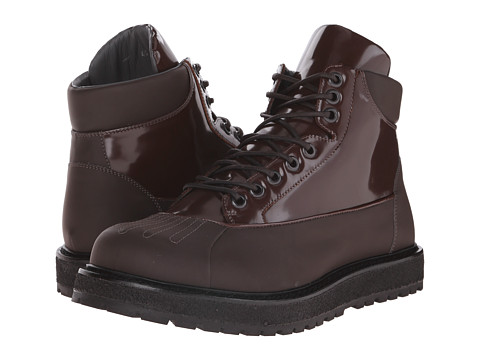 Incaltaminte Barbati Viktor Rolf Brushed Leather Duck Boot Brown