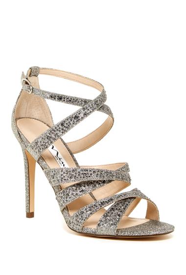 Incaltaminte Femei Nina Shoes Chantez Glitter Sandal stone baby glitter