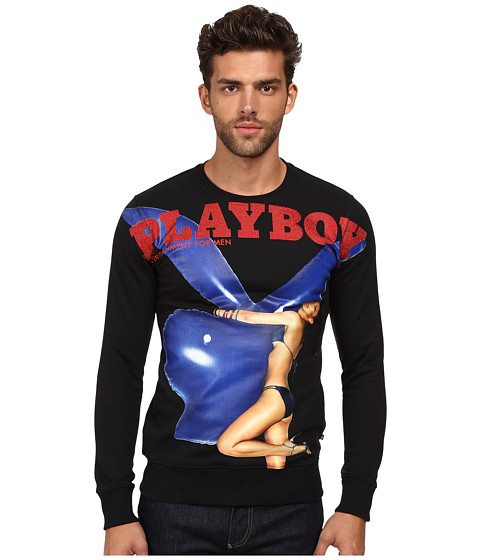 Imbracaminte Barbati Philipp Plein Playboy Sweater Black