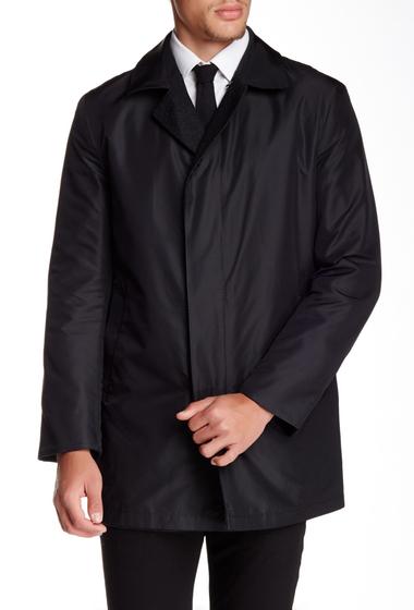 Imbracaminte Barbati Sanyo Stanley Reversible Silk Coat BLACK