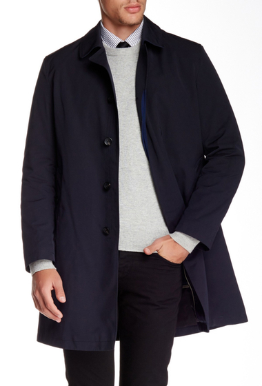 Imbracaminte Barbati Sanyo Removable Lining Trench Coat MIDNIGHT
