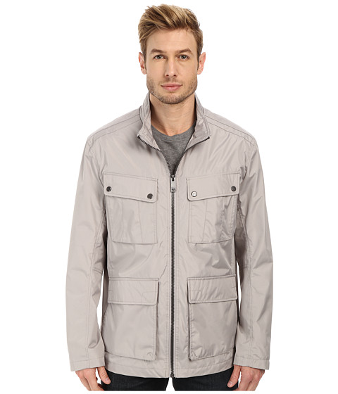 Imbracaminte Barbati Marc New York by Andrew Marc Bobby - City Rain Tech Four-Pocket Field Jacket Dove Grey