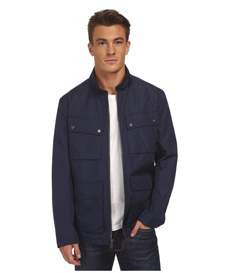 Imbracaminte Barbati Marc New York by Andrew Marc Bobby - City Rain Tech Four-Pocket Field Jacket Navy
