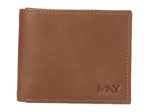 Genti Barbati Marc New York by Andrew Marc Sergio Passcase Wallet Brown