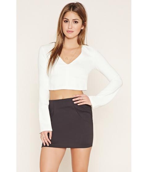 Imbracaminte Femei Forever21 Zip-Back Mini Skirt Black