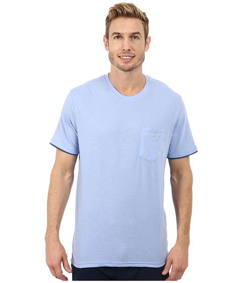Imbracaminte Barbati Kenneth Cole Reaction Short Sleeve Crew Light Blue