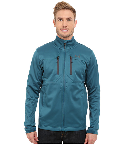 Imbracaminte Barbati Under Armour UA Coldgear Infrared Softershell Jacket Legion Blue