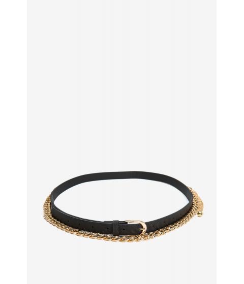 Accesorii Femei CheapChic Randie Chain Basic 2pc Belt Black