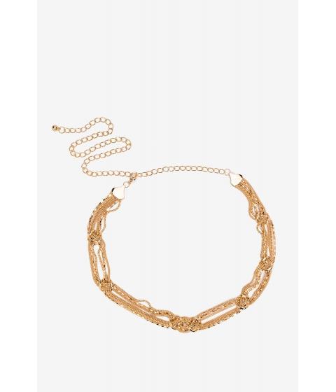 Accesorii Femei CheapChic Knot Accent Chain Belt Met Gold
