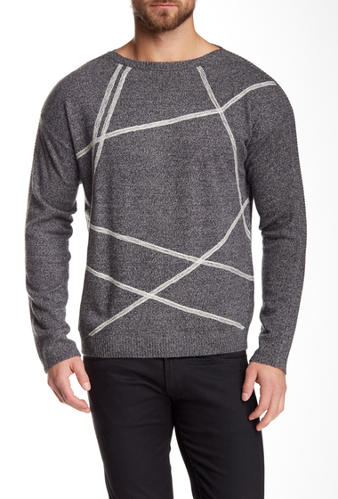 Imbracaminte Barbati Quinn Ham Cashmere Sweater shadow mouline-white