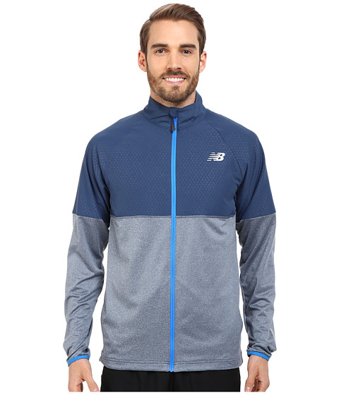 Imbracaminte Barbati New Balance Speed Jacket Electric Blue