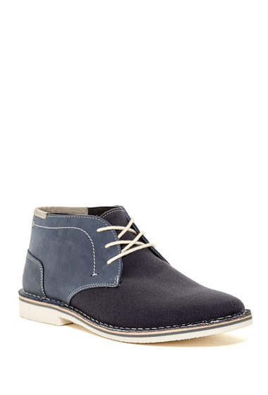 Incaltaminte Barbati Steve Madden Ionic Chukka Boot NAVY LEATH