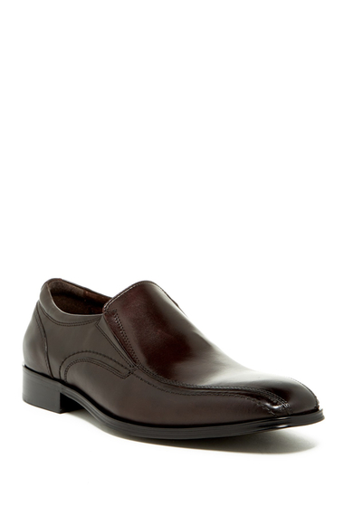 Incaltaminte Barbati Steve Madden Canid Bicycle Toe Loafer BROWN LEAT