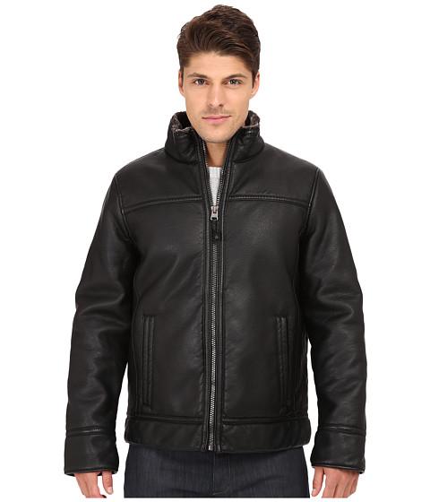 Imbracaminte Barbati Calvin Klein Pebble Open Bottom Jacket Black