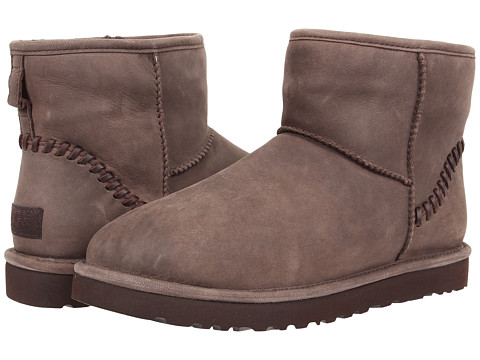 Incaltaminte Barbati UGG Classic Mini Deco Capra Chocolate Leather