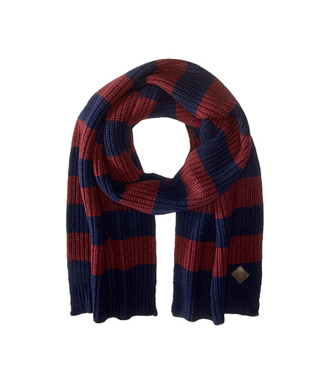 Accesorii Barbati Cole Haan Striped Cardigan Stitch Muffler Blazer BluePort Royal