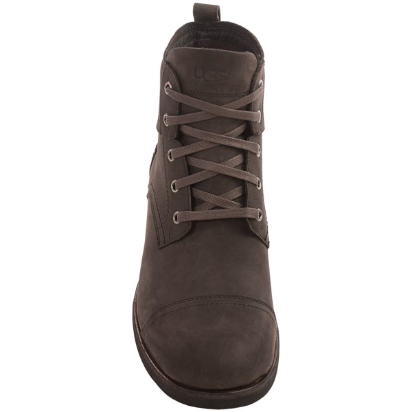 Incaltaminte Barbati UGG UGG Australia Parkhurst Boots - Leather Lace-Ups ESPRESSO (01)