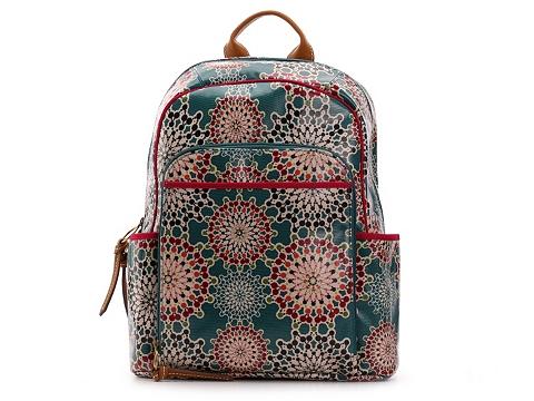 Genti Femei Fossil Fossil Keyper Backpack TealPurpleCoral Multi