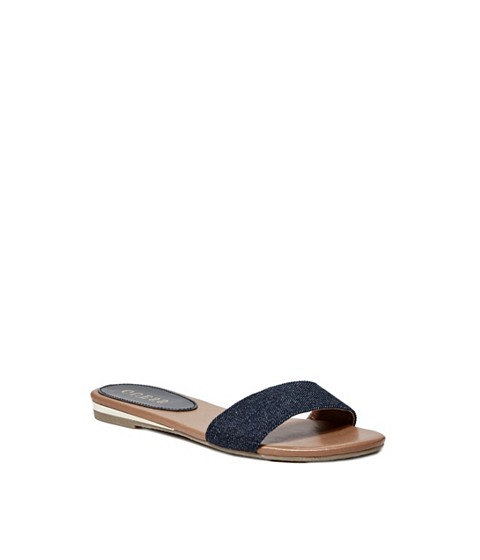 Incaltaminte Femei GUESS Kailee Slide Sandals denim