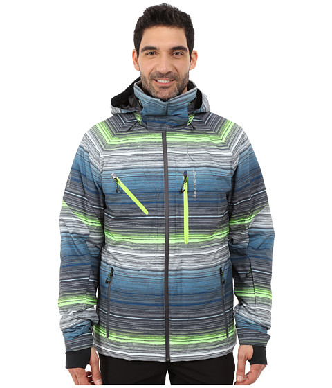 Imbracaminte Barbati Obermeyer Hunter Jacket Jail Break Stripe