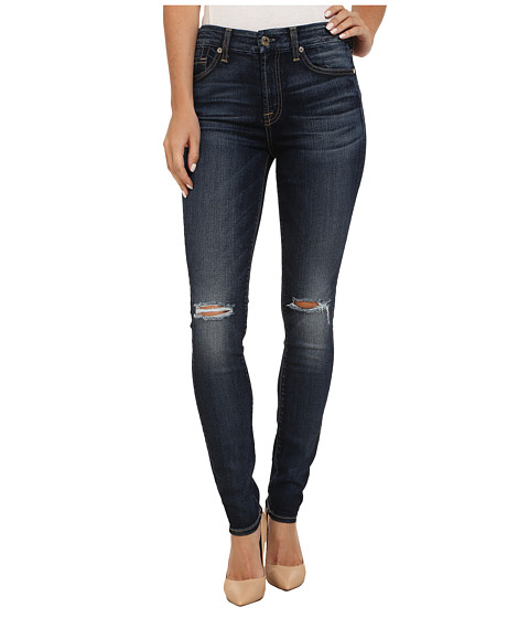 Imbracaminte Femei 7 For All Mankind Mid-Rise Skinny in Marie Vintage Blue 2 Marie Vintage Blue 2