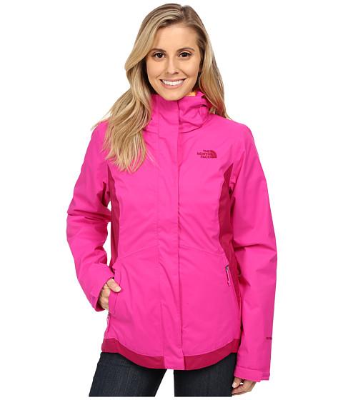 Imbracaminte Femei The North Face Mossbud Swirl Triclimatereg Jacket Luminous PinkDramatic Plum