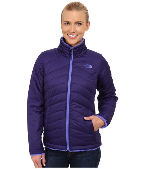 Imbracaminte Femei The North Face Mossbud Swirl Reversible Jacket Garnet PurpleStarry Purple