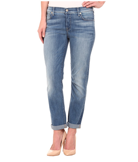 Imbracaminte Femei 7 For All Mankind Josefina in Icicle Blue Icicle Blue