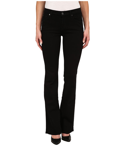 Imbracaminte Femei 7 For All Mankind Kimmie Bootcut in Washed Overdye Black Washed Overdye Black
