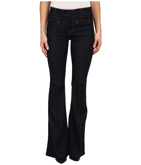 Imbracaminte Femei 7 For All Mankind The Pintuck Trousers in True Rinsed True Rinsed