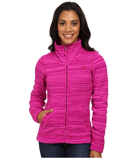Imbracaminte Femei The North Face Crescent Sunset Full Zip Jacket Dramatic Plum Stria Print