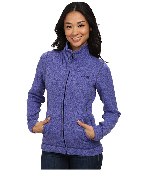 Imbracaminte Femei The North Face Crescent Sunset Full Zip Jacket Starry Purple Heather