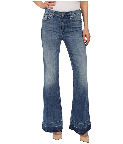 Imbracaminte Femei 7 For All Mankind Tailorless Ginger in Bright Light Broken Twill 2 Bright Light Broken Twill 2