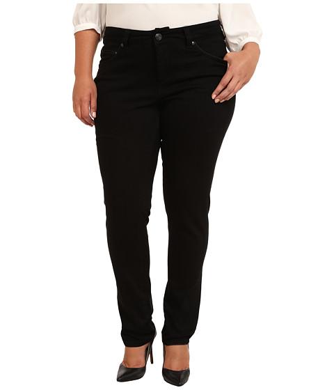 Imbracaminte Femei Jag Jeans Plus Size Piper Narrow in Black on Black Black On Black