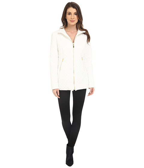 Imbracaminte Femei Via Spiga Quilted Zip Jacket White