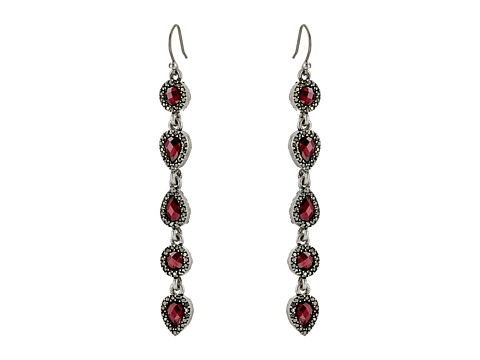 Bijuterii Femei Lucky Brand Ruby Linear Drop Earrings Silver