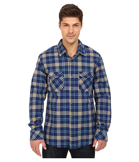 Imbracaminte Barbati Quiksilver Everyday Flannel Long Sleeve Everyday Flannel Medieval Blue