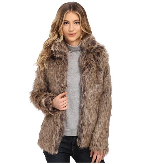 Imbracaminte Femei Brigitte Bailey Karrie Faux Fur Jacket Brown Multi