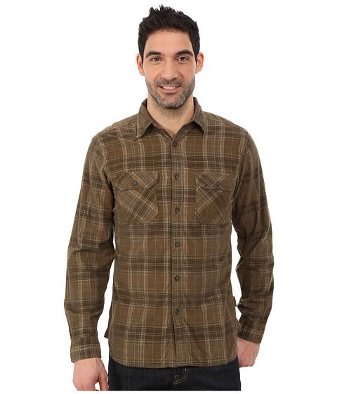 Imbracaminte Barbati Royal Robbins Colville Cord Long Sleeve Shirt Fatigue Green