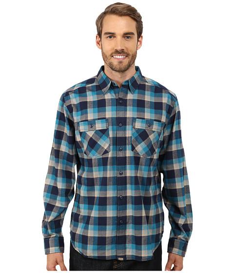 Imbracaminte Barbati Royal Robbins Merced Plaid Long Sleeve Shirt Lunar Blue