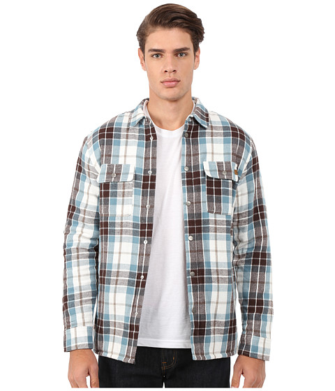 Imbracaminte Barbati Rip Curl Gibbs Long Sleeve Flannel Off-White